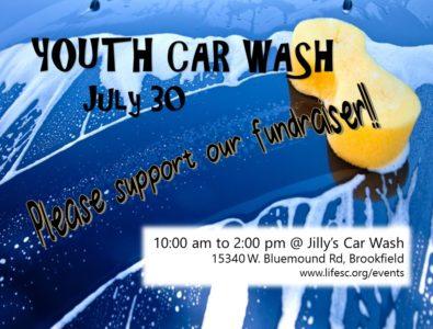 Car Wash flyer 7.30.16