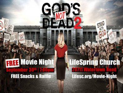 God's Not Dead Movie Night slider
