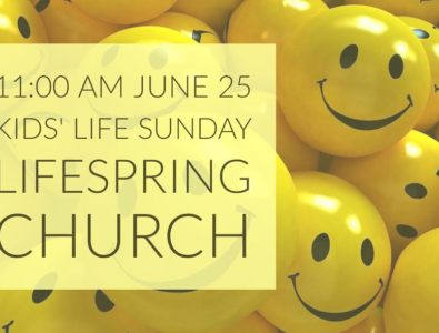 11:00 Kids' Life Sunday