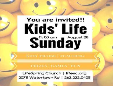 Kids'Life Sunday