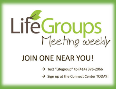 LifeGroup MtgWkly_LifeSpring Church of Brookfield WI in Waukesha County a suburb of Milwaukee Wisconsin