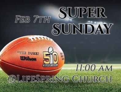 Super Sunday promo